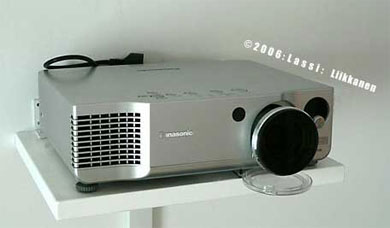 Panasonic AE900 projector